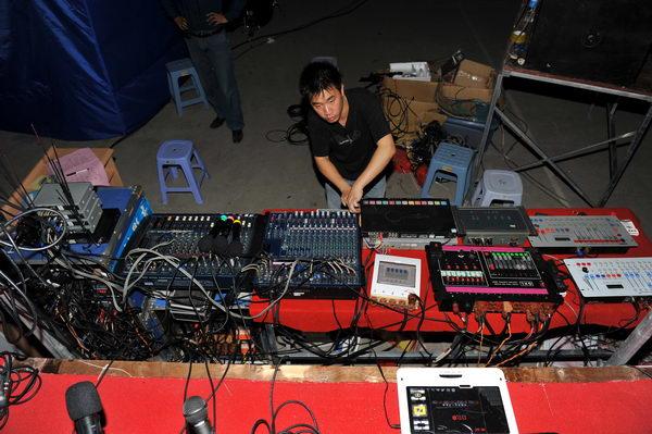 舞台策划设备